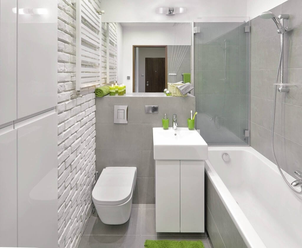 скандинавська ванна кімната