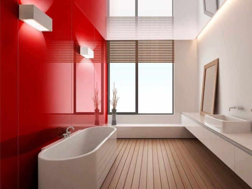 скляні стіни у ванній