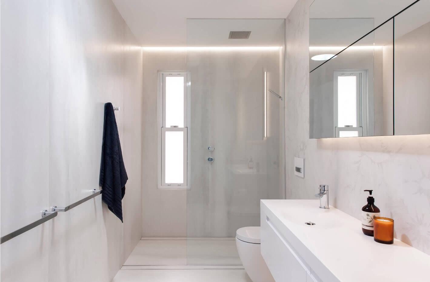 інтер'єр маленької ванної