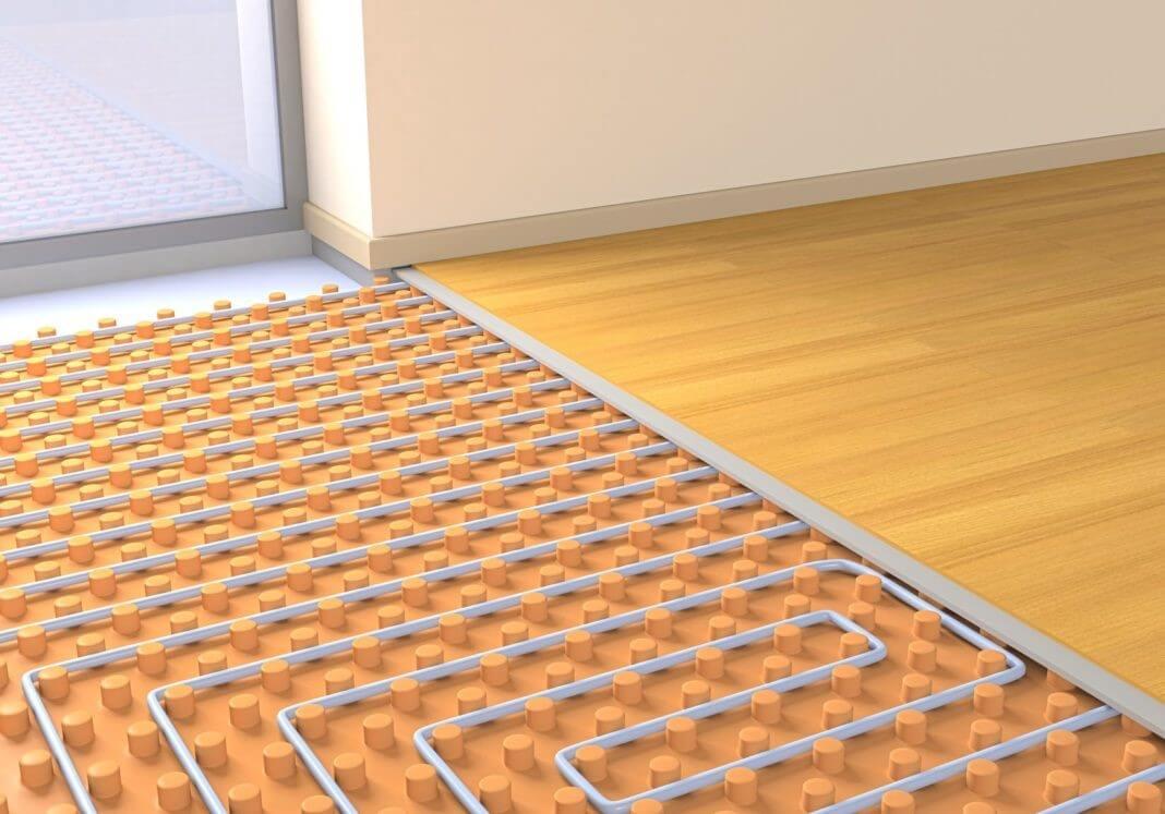 укладка ламінату на теплу підлогу