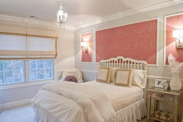 декоративное панно обои спальня