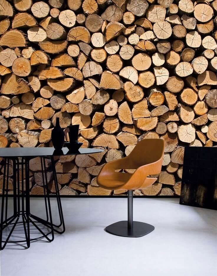 фотообои дрова