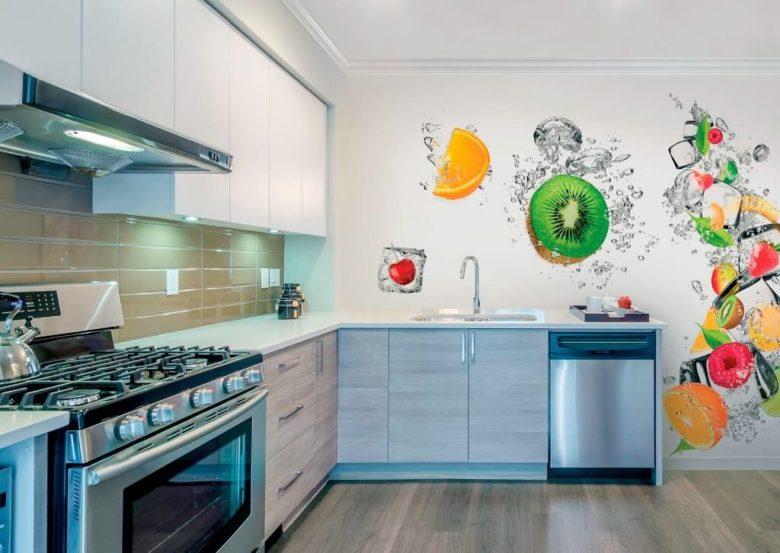 шпалери для кухні