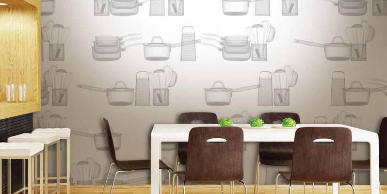тематичні шпалери на кухню