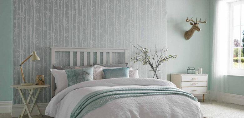 шпалери для спальні