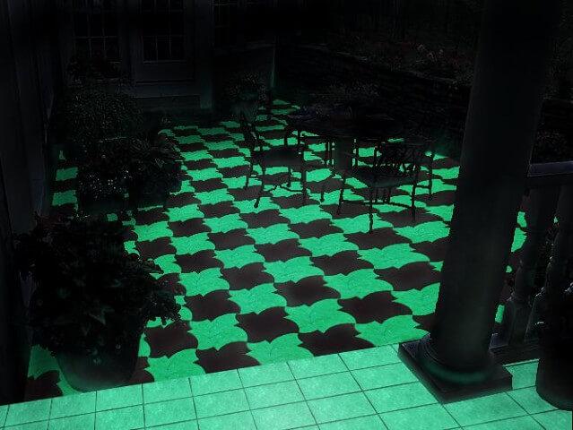 светящаяся плитка фото