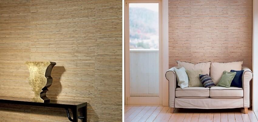 бамбукові шпалери на паперовій основі