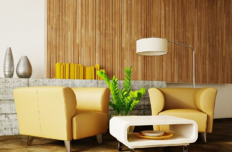 бамбукові шпалери в інтер'єрі