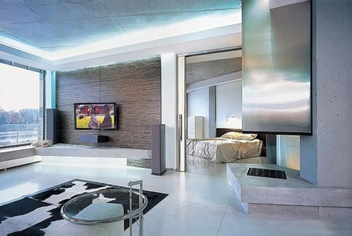 дизайн квартир в стиле хай тек