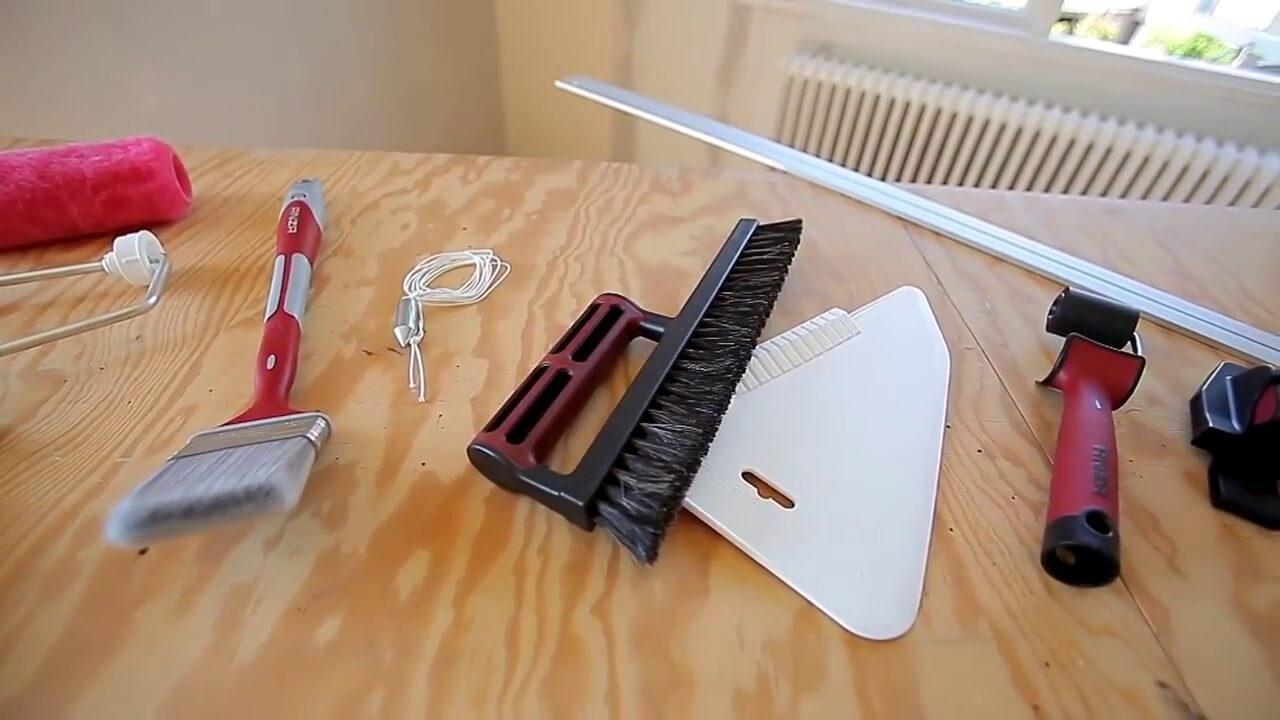 інструмент для поклейки бамбукових шпалер