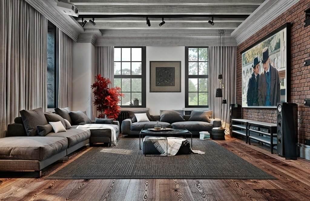 Дизайн квартир 2021 - 5 модных стилей дизайна интерьера