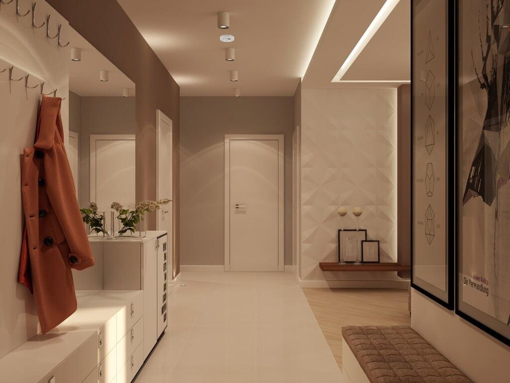 як вибрати шпалери для коридору