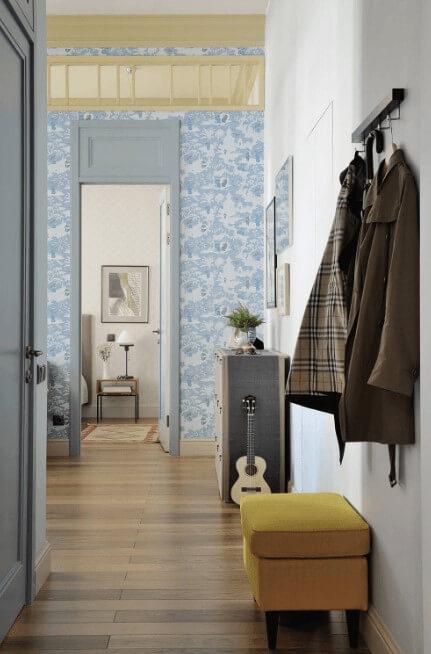 сучасні шпалери для коридору
