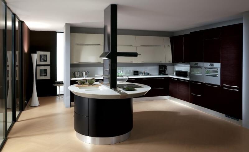 дизайн кухні хай тек