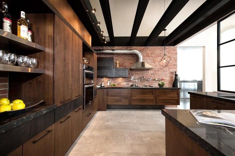 дизайн кухні лофт