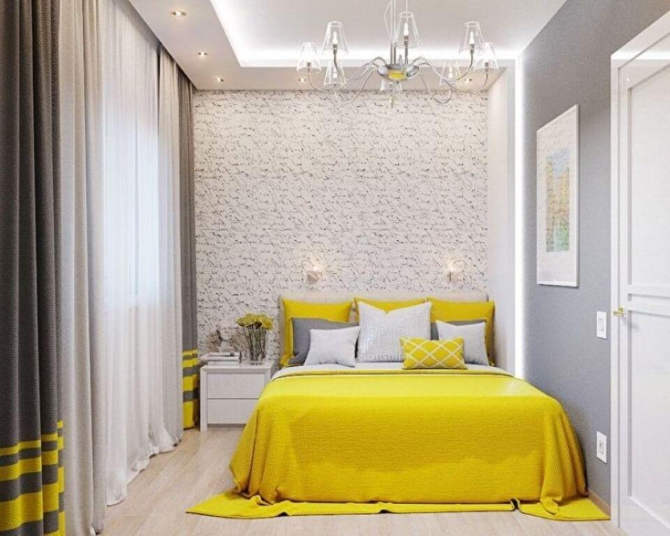 інтер'єр маленької спальні