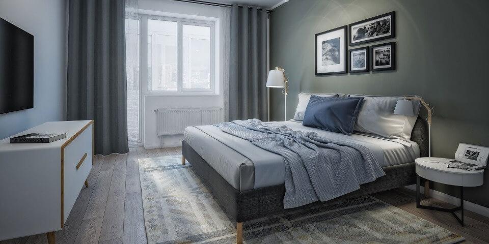 інтер'єр сучасної спальні