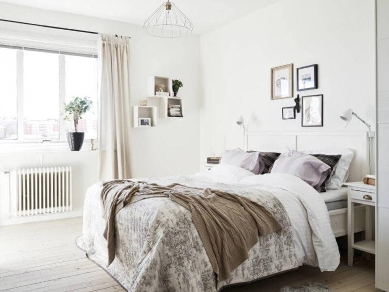 дизайн світлої спальні