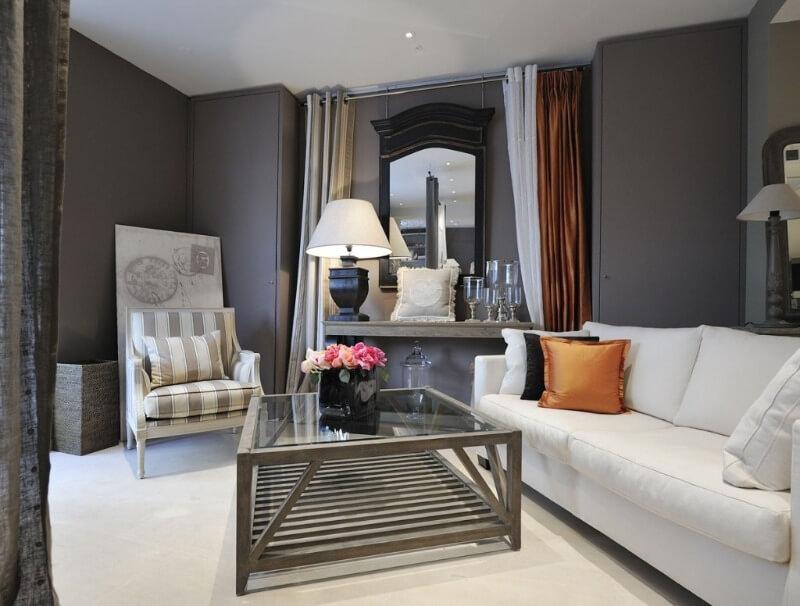 елементи декору у вітальні
