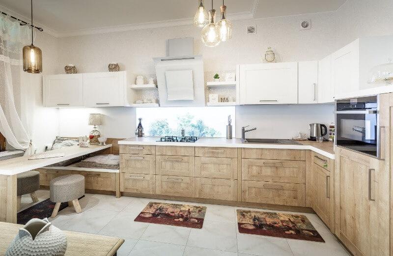 фактурные поверхности в дизайне кухни
