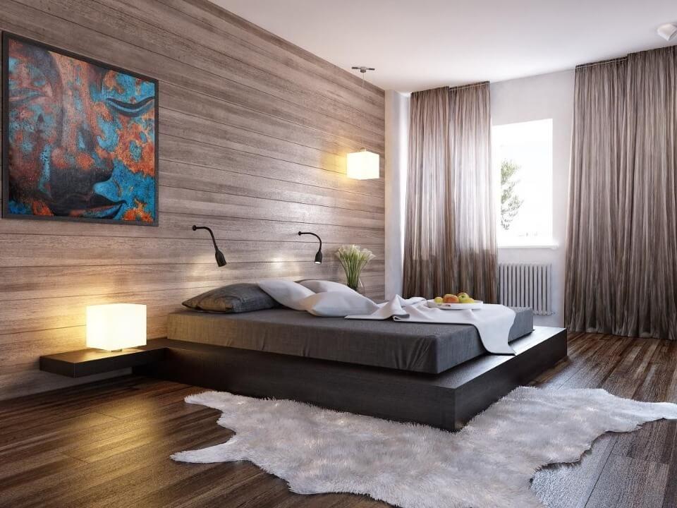оздоблення стін і підлоги ламінатом