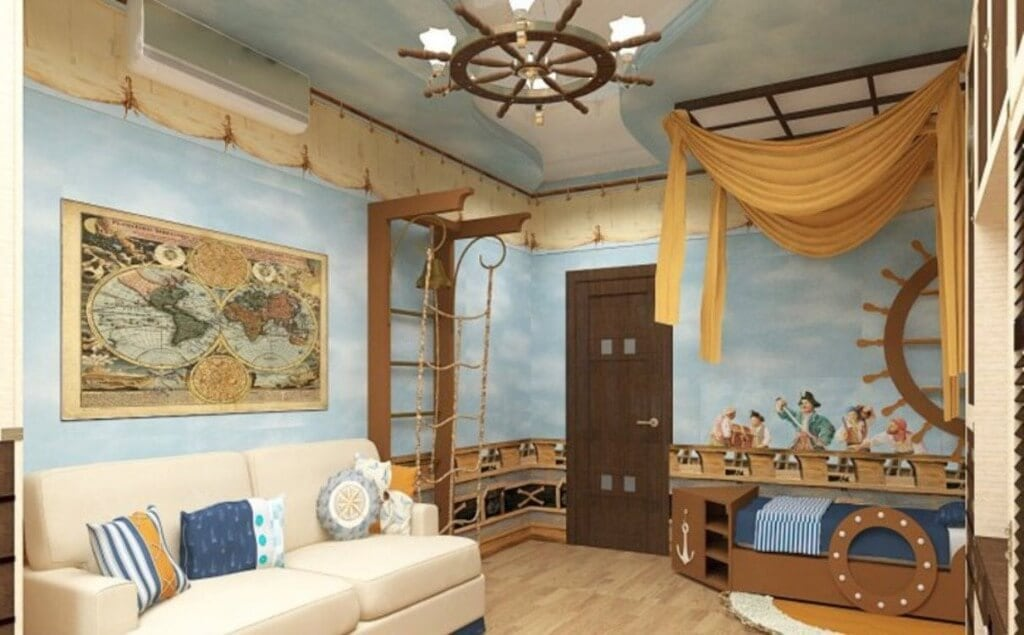люстра детская комната