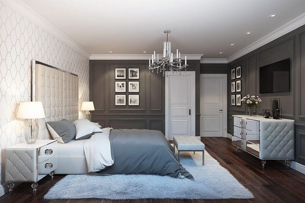 люстра в спальні
