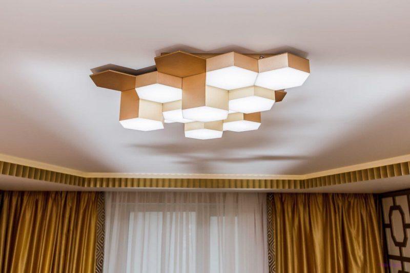 модные потолочные светильники