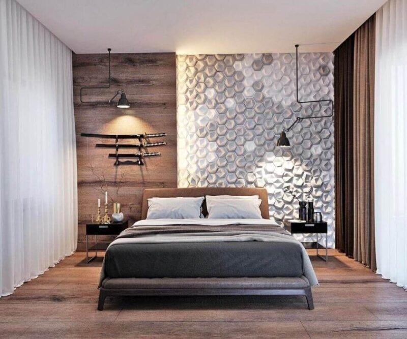 оздоблення сучасної спальні