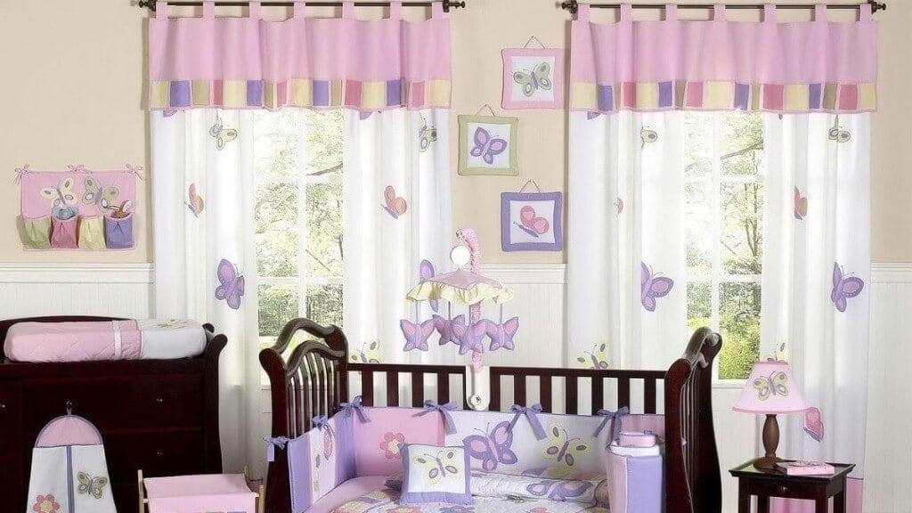 штори в дитячій кімнаті