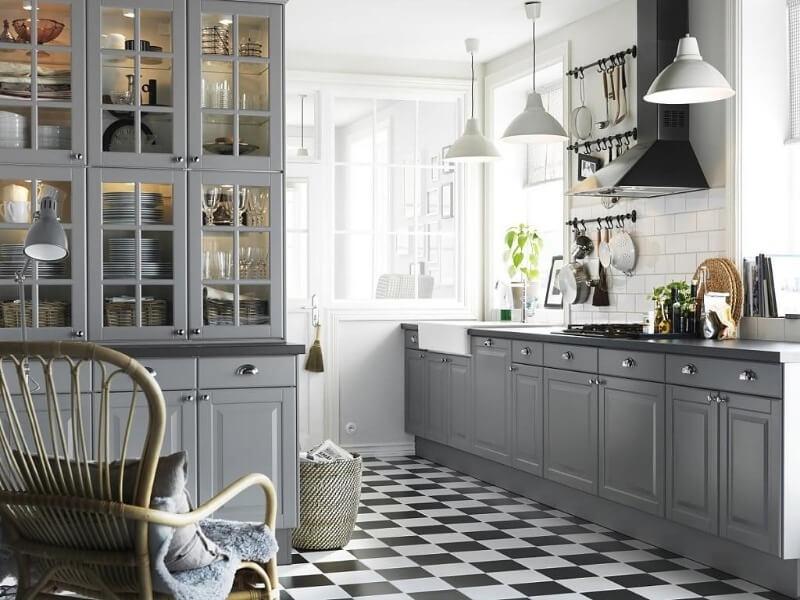 современная кухня скандинавский стиль