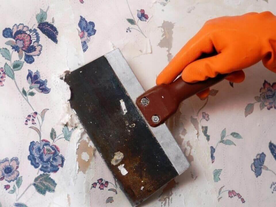 інструменти для зняття шпалер