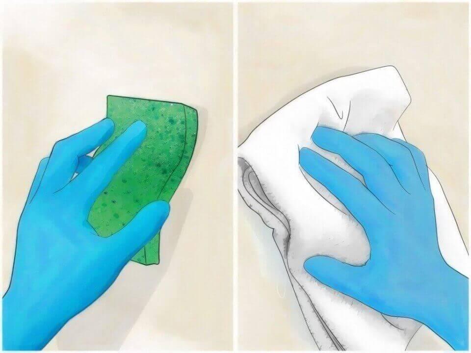 зняття флізелінових шпалер