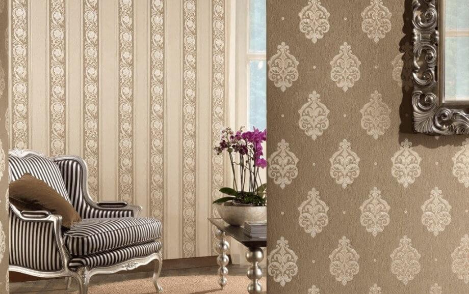 текстильні шпалери на флизелиновій основі