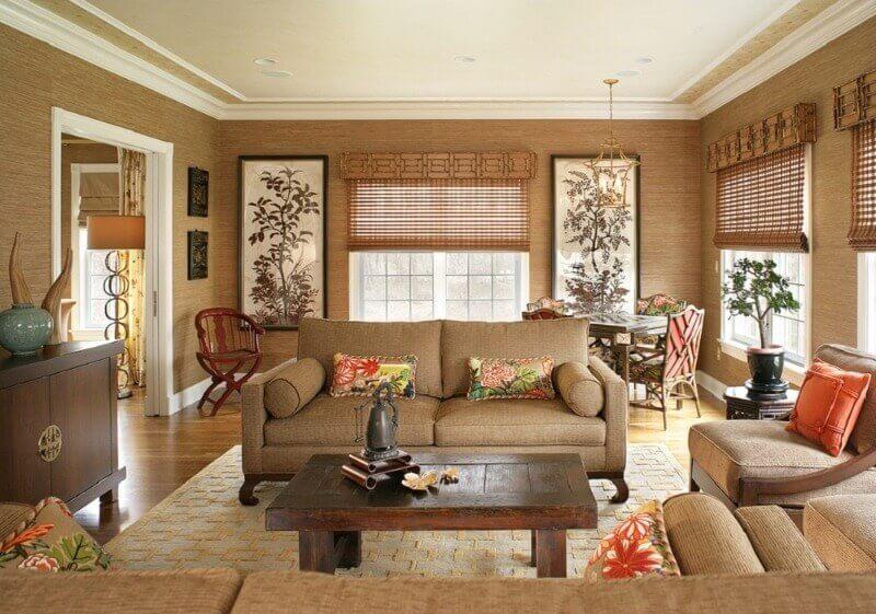 вибір бамбукових шпалер