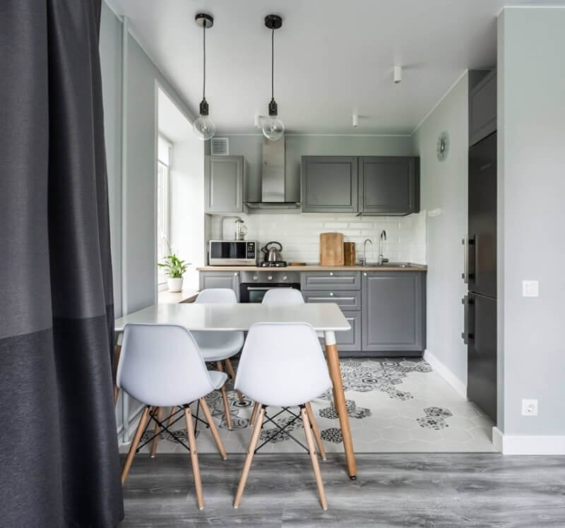 дизайн однокомнатной квартиры до 30 кв.м