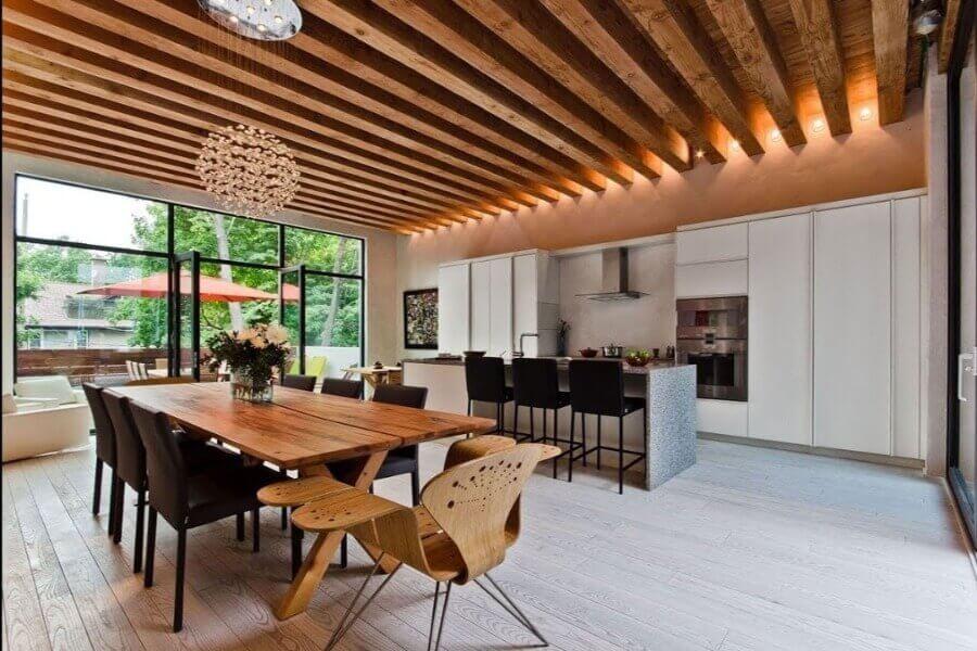 дизайн стелі з дерева