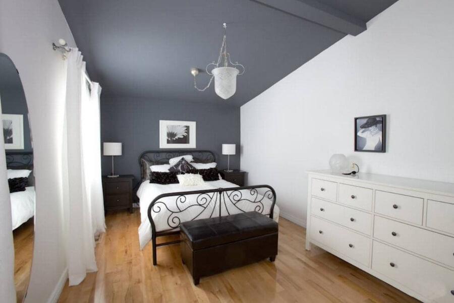 дизайн потолка серый цвет