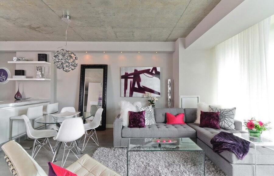 дизайн стелі в квартирі студії