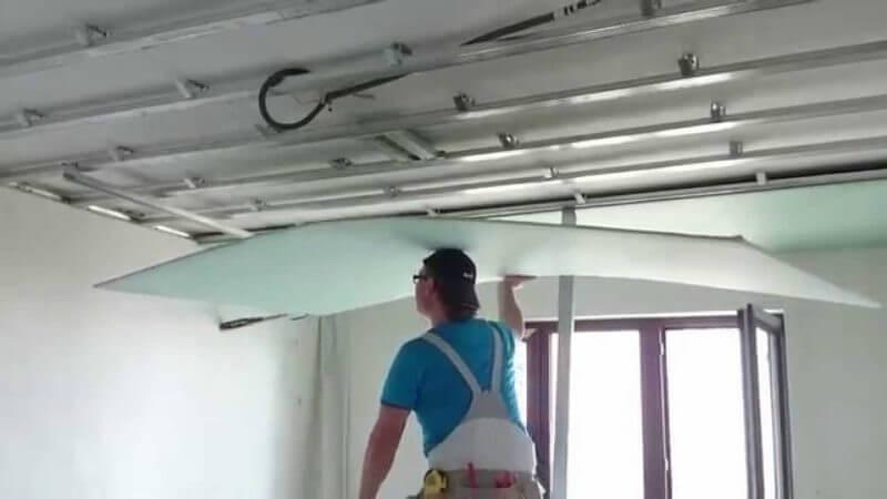 гипсокартон для потолка