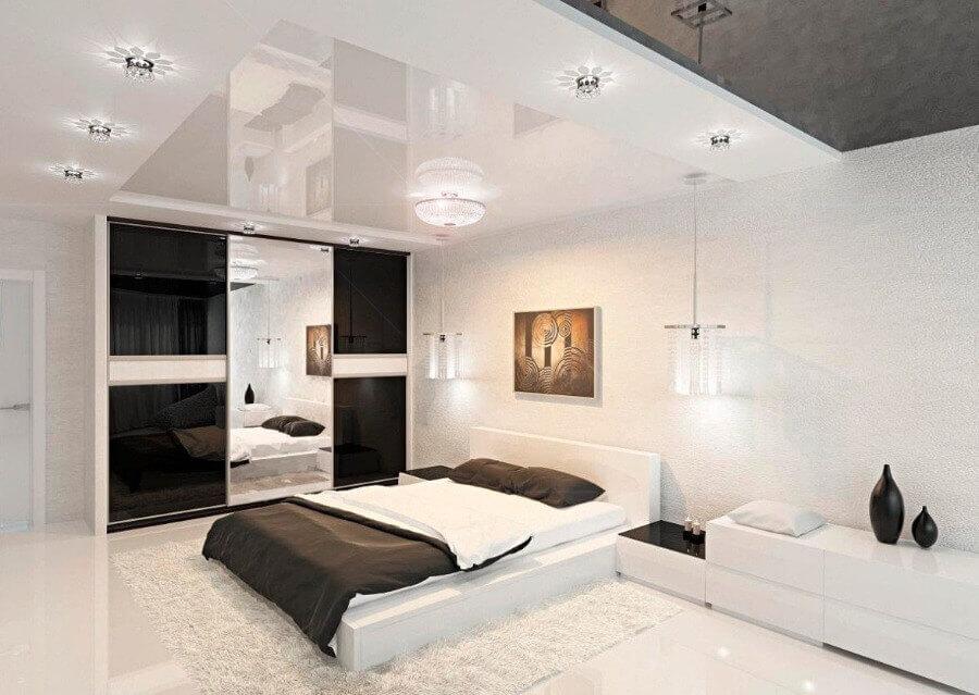 красивий дизайн стелі