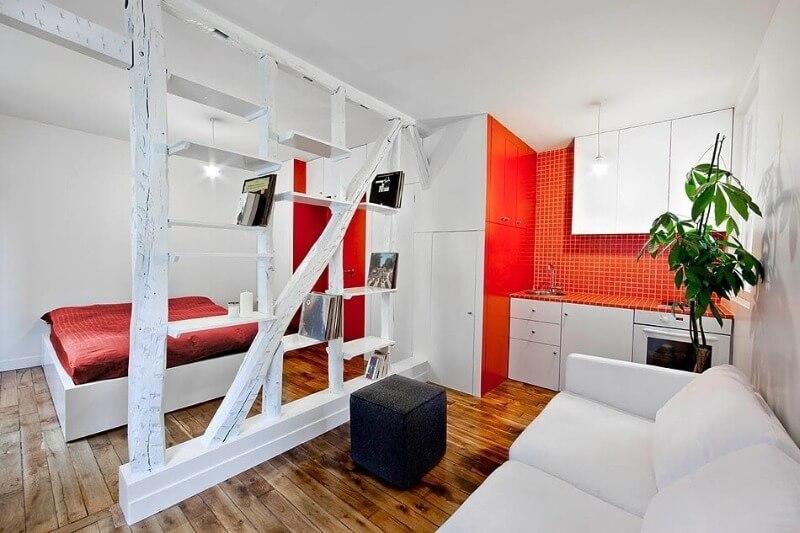 перегородки в маленькой квартире