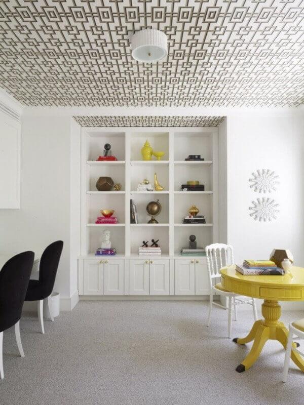 шпалери на стелі дизайн