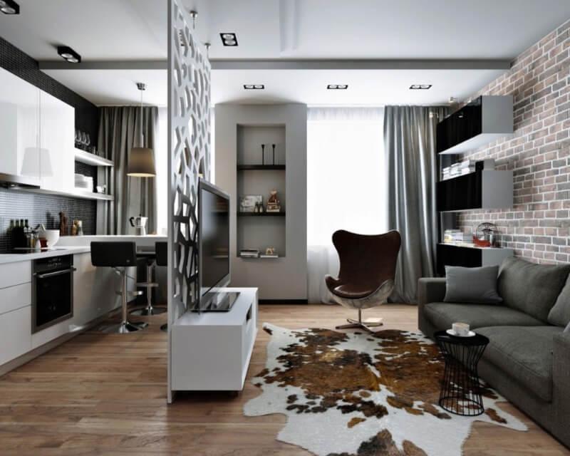 оформление квартиры 40 кв м