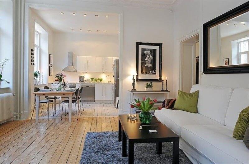 оформление квартиры студия