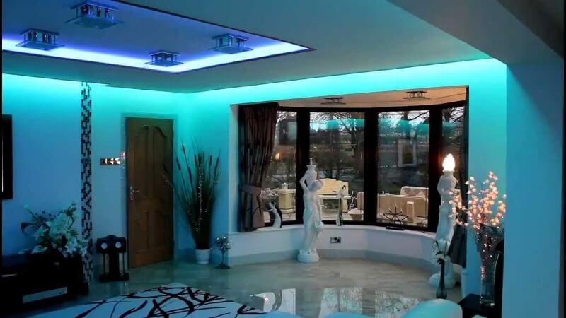светодиодная лента дизайн квартиры