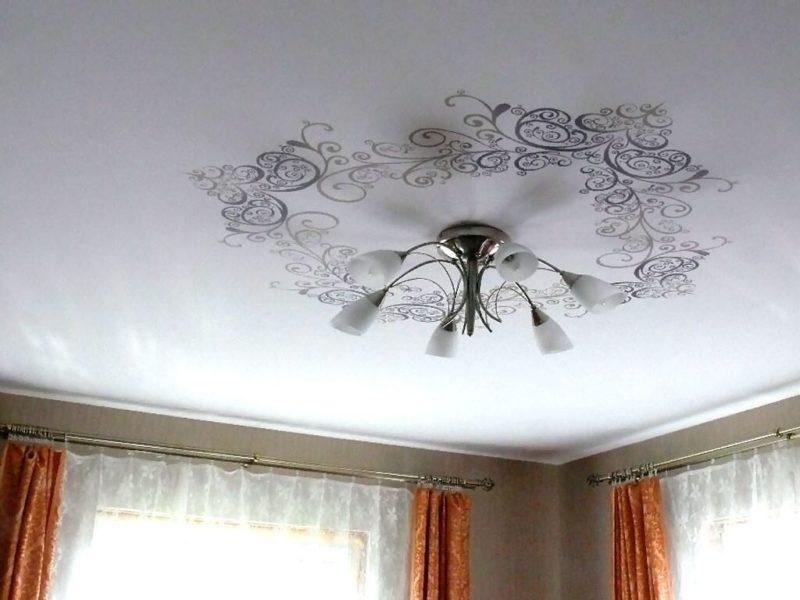 белый тканевый потолок Clipso