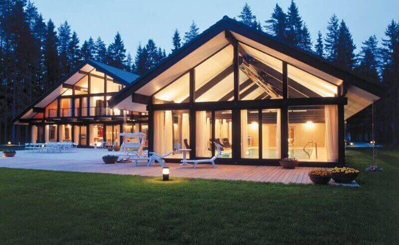 будинок фахверк дизайн