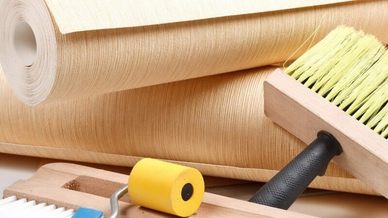інструменти для поклейки флізелін шпалер