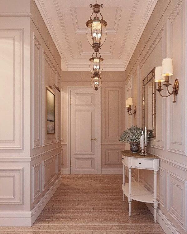 бежевый коридор
